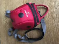 Littlelife ladybird backpack - excellent condition and hardly used