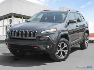 2016 Jeep Cherokee $230 b/w tax in   Trailhawk   V6   Sunroof  