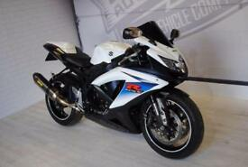 2010 SUZUKI GSXR750, AKRAPOVIC EXHAUST, IMMACULATE, £6,250 OR FLEXIBLE FINANCE