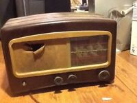 Old Bakelite radio