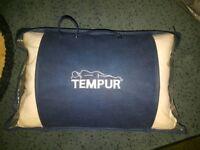 Tempur travel / camping / caravan pillow