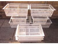 STORAGE BOXES/BASKETS 9 (nine) STORAGE BOXES/BASKETS ***SEE FULL AD****