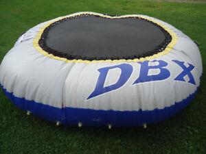 DBX Water trampoline water bouncer 10 foot diameter with ladder