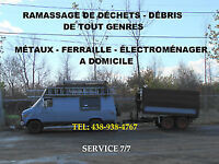 RECYCLAGE RAMASSAGE RECUPERATION VENTE ÉLECTROMÉNAGERS USAGERS