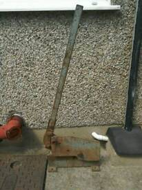 Large Metal cutter
