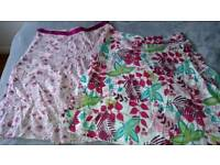 Two per una skirts great condition size 16