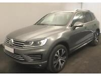 VOLKSWAGEN TOUAREG 3.0 V6 TDI 245/262 ALTITUDE R LINE ESCAPE FROM £150 PER WEEK!