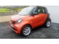 2015 (oct) SMART FORTWO PASSION NEW MODEL 1.0 MANUAL LOW MILES 1 YEAR OLD