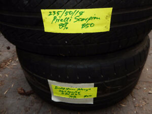 18 INCH SINGLE TIRES.  Browse your size here