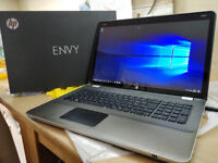 HP Envy 17 - intel Quad Core i7 - 17.3 inch High Res Screen - 12gb ram - Blu-ray