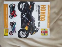 Honda 600f1 and 1000f hayes manual
