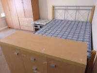 LARGE DOUBLE ROOMS IN WESTBOURNE. THE RENT IS INCLUSIVE OF ALL BILLS NO FEES NO REFS