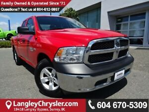 2015 RAM 1500 ST w/PARKVIEW BACKUP CAMERA & POWER WINDOWS