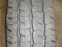 Caravan spare wheel/tyre Ovation tubeless Radial 8Pr 90/88Q Rim 4Stud 4 1/2 Jx13 H2