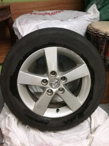Tires on mags summer