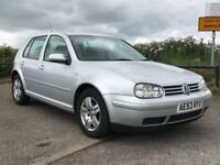 2003 53 VOLKSWAGEN GOLF 1.6 MATCH 5D 103 BHP