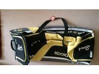 As new condition Kookaburra pro 800 cricket kit bag