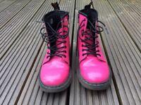 Pink Dr Martens Size 1