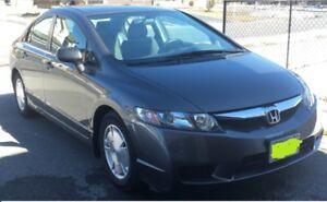 2010 Honda Civic DXG, 38000km, $10500
