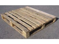 Used wooden pallets in good condition