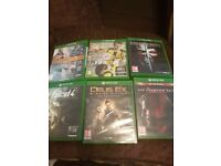 6 xbox one games for sale