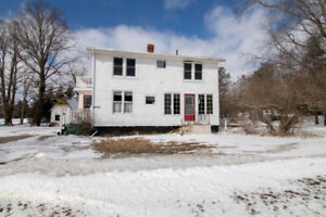 classic 2 story with a beautiful lot minutes from Charlottetown