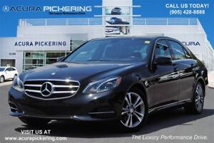 2014 Mercedes-Benz E-Class E300|AWD|Leather|Sunroof|Navigation