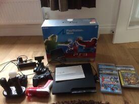 PS3 Move/various PS3 peripherals/games