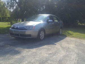 2008 Ford Focus Sedan, NO RUST,MVI,DRIVES LIKE NEW