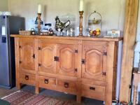 Handmade Solid Wood Sideboard / Cupboard