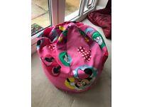 Free Minnie Mouse beanbag