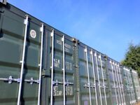 from £36pw (all inc.) per 20ft Container - 24hr Access Self Storage Secure Shipping Containers
