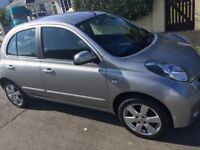 Nissan micra 5 door hatchback 1.2 petrol VERY LOW MILES 12,471. 12 months MOT, Immaculate condition.