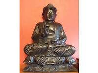 Sitting Buddha statue - £120