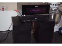SONY DAB RADIO/CD/IPOD DOCK/AUX IN/DAB ANTENNA/CAN BE SEEN WORKING