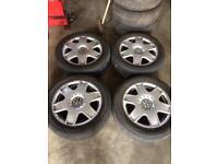 16 inch Bora sports Mk4 golf etc