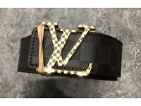 Brand New Men's LV Belts Checked £12 Each