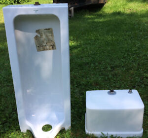 Standing Urinal with tank(CRANE)