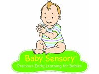 Baby Sensory Classes for birth to 13 months