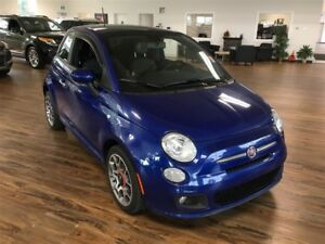 2013 Fiat 500 Sport [s-roof/leather]
