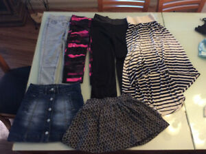 Assorted girl clothes