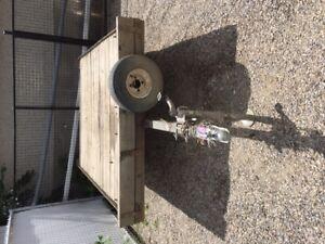 "5'6"" X 8' tilt deck utility trailer"