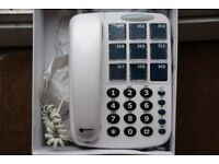 Geemarc large button phone in perfect working order