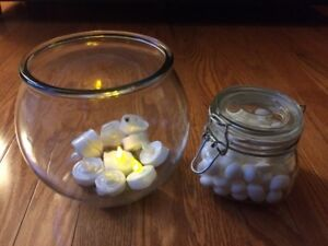 Wedding Decorations and Candy Bar Jars