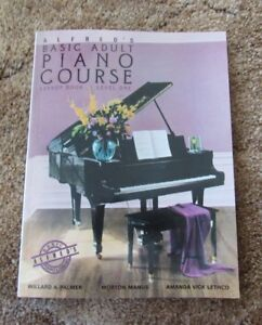 Alfred's Basic Adult Piano Course Level One