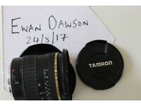 Tamron 11-18mm F/4.5-5.6 SP AF Di II LD (Canon fit)
