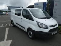 Ford Transit Custom 2.2TDCi ( 100PS ) 2013.5MY 290 L2H1 Crewvan