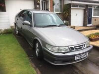 Saab 9.3 diesel for spares or repairs. No MOT. Good tyres, engine good condition. £150 no offers.