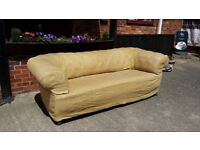 Very large Chesterfield sofa