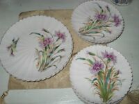 PART BONE CHINA DINNER SERVICE, 13 PIECES